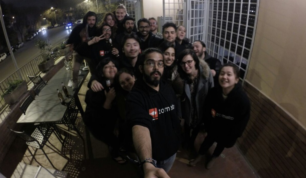 Zomato Roma Team