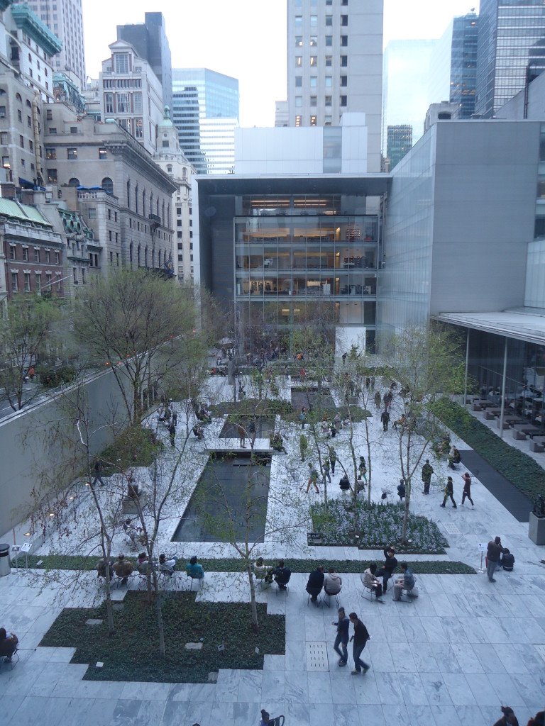 MoMa, New York- Yoshio Taniguchi