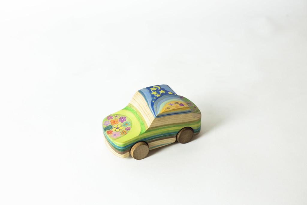 her little car