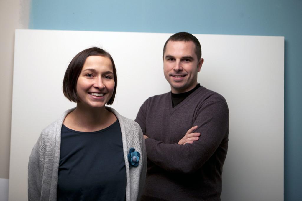 Marzena Ciesielka e Carlo Piemonte