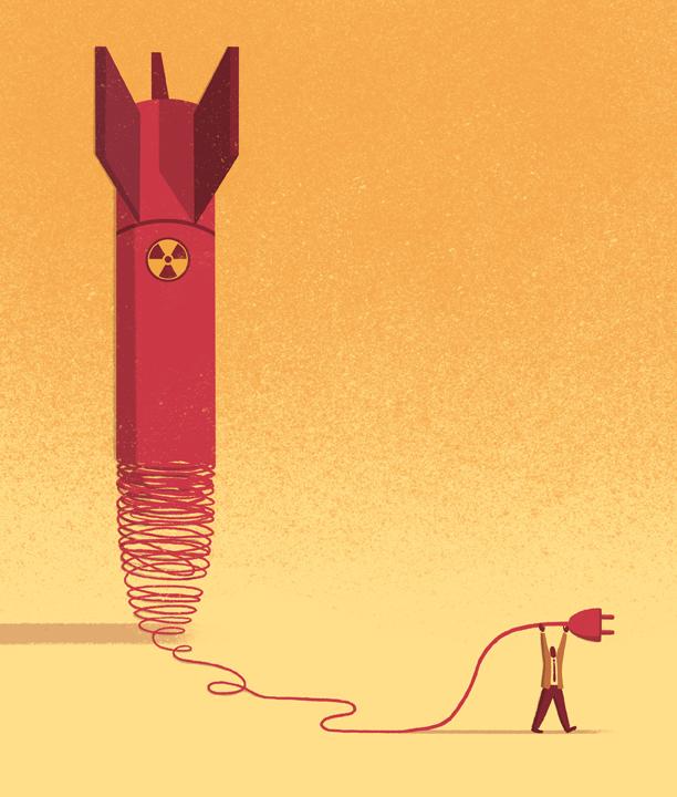 MIT Technology Review - Dismantle Nuclear Missiles ©Davide Bonazzi