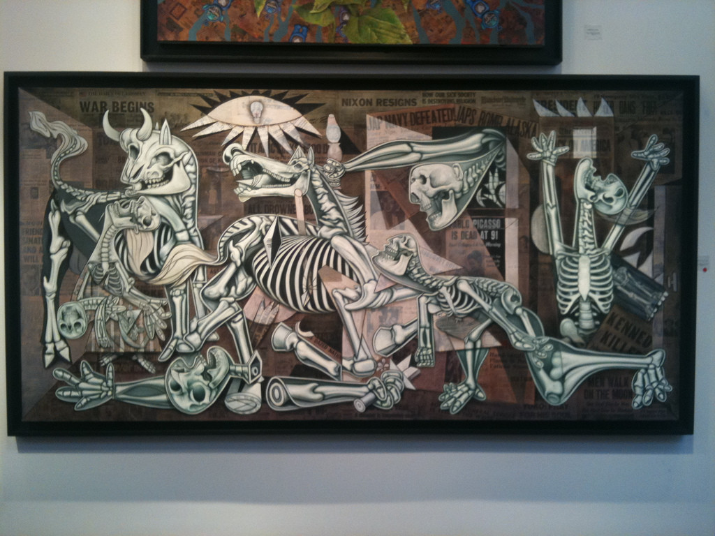 Guernica by Ron English