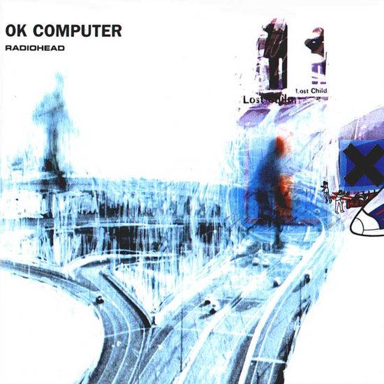 Copertina di OK Computer
