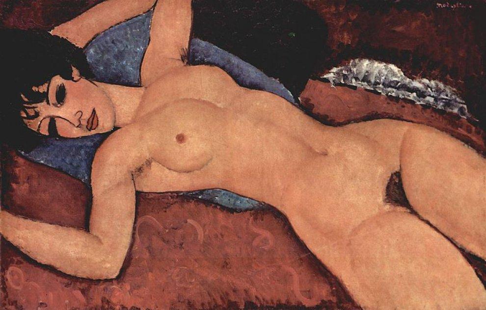 """""""Nu Couché"""" – Amedeo Modigliani"""