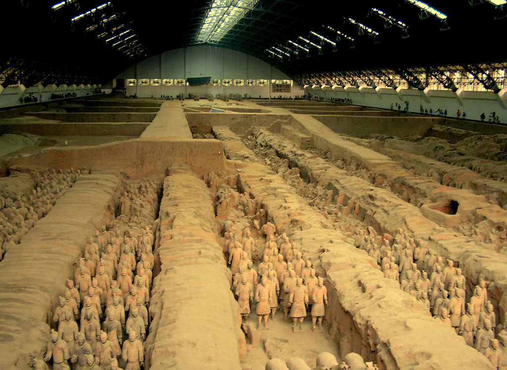 esercito di terracotta cinese