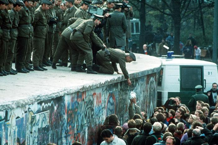 caduta del muro di Berlino
