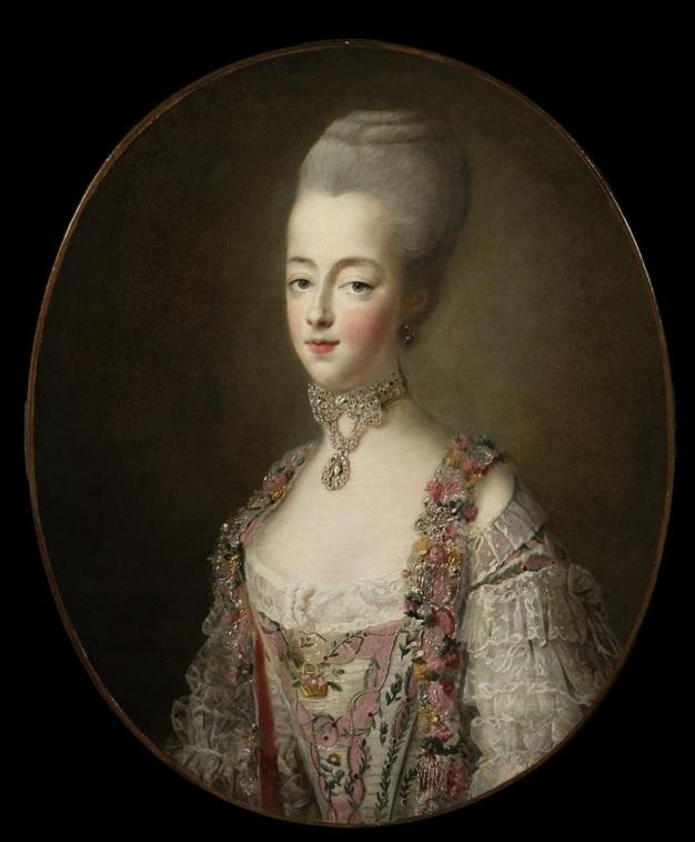 Maria Antonietta d'Asburgo-Lorena e la sua parure