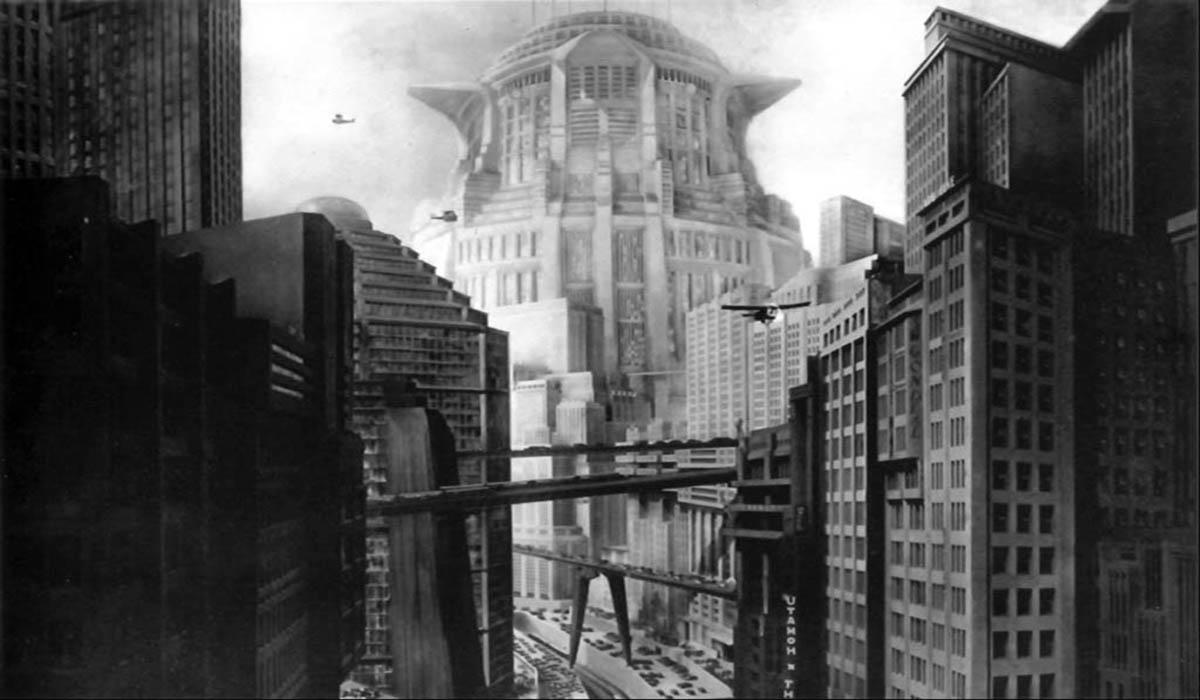 La città del futuro costruita dal cinema