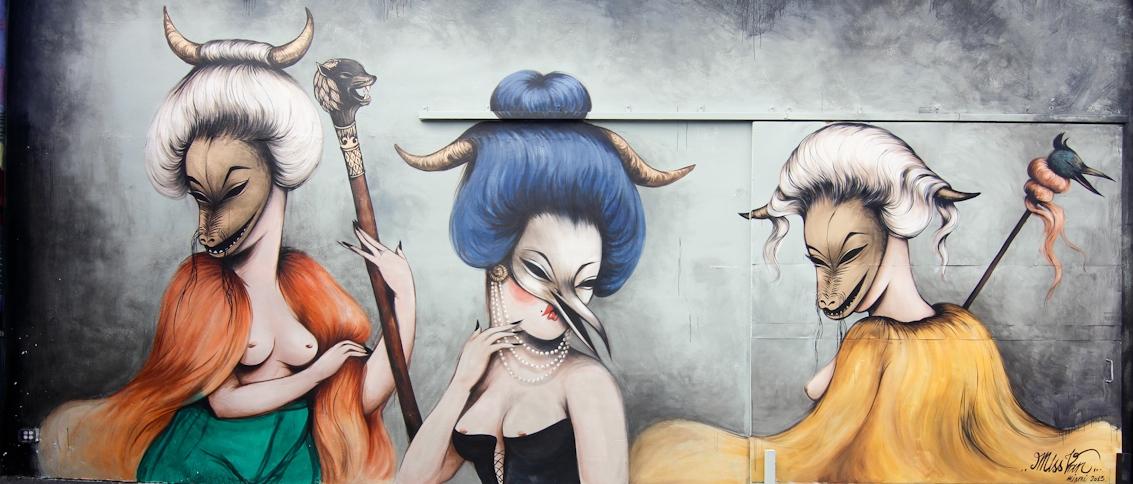 Vernice Rosa: la Street Art delle Donne