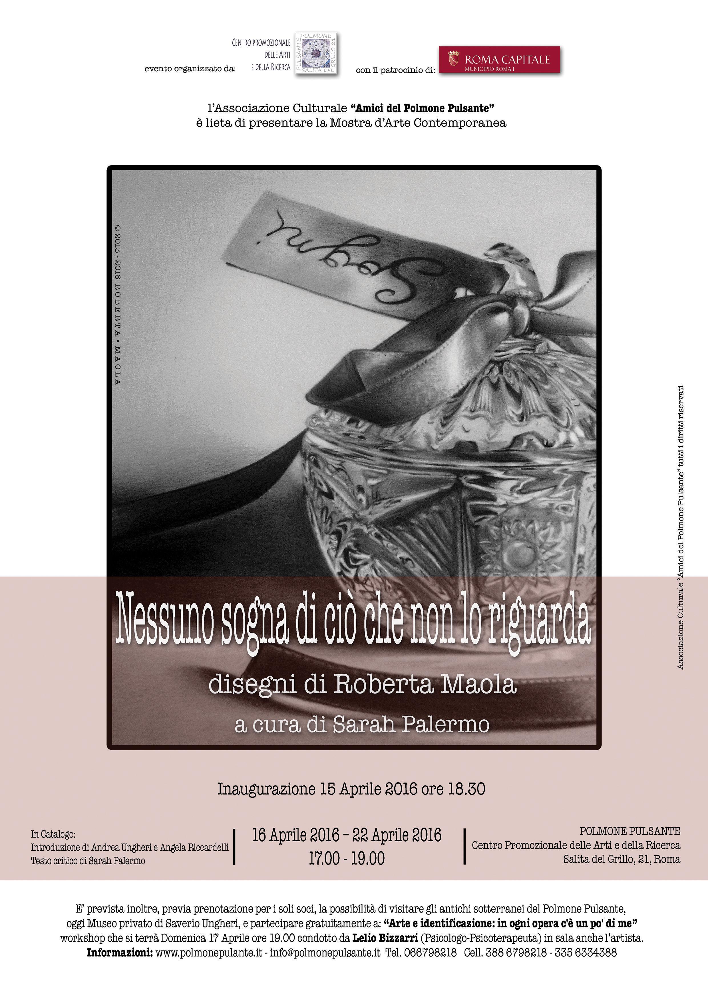 """""""Nessuno sogna di ciò che non lo riguarda"""" disegni di Roberta Maola"""