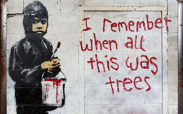 Banksy_trees