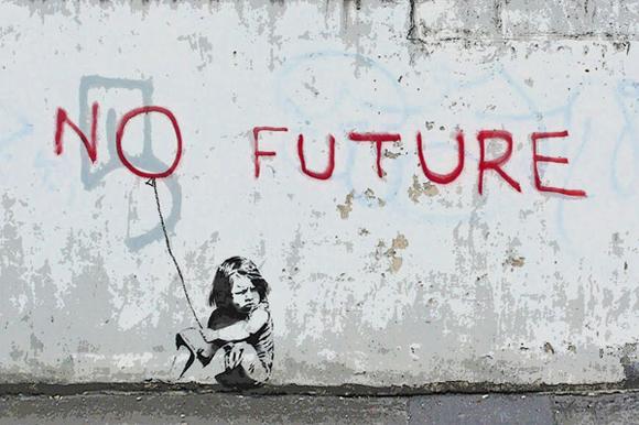No Future Girl Balloon