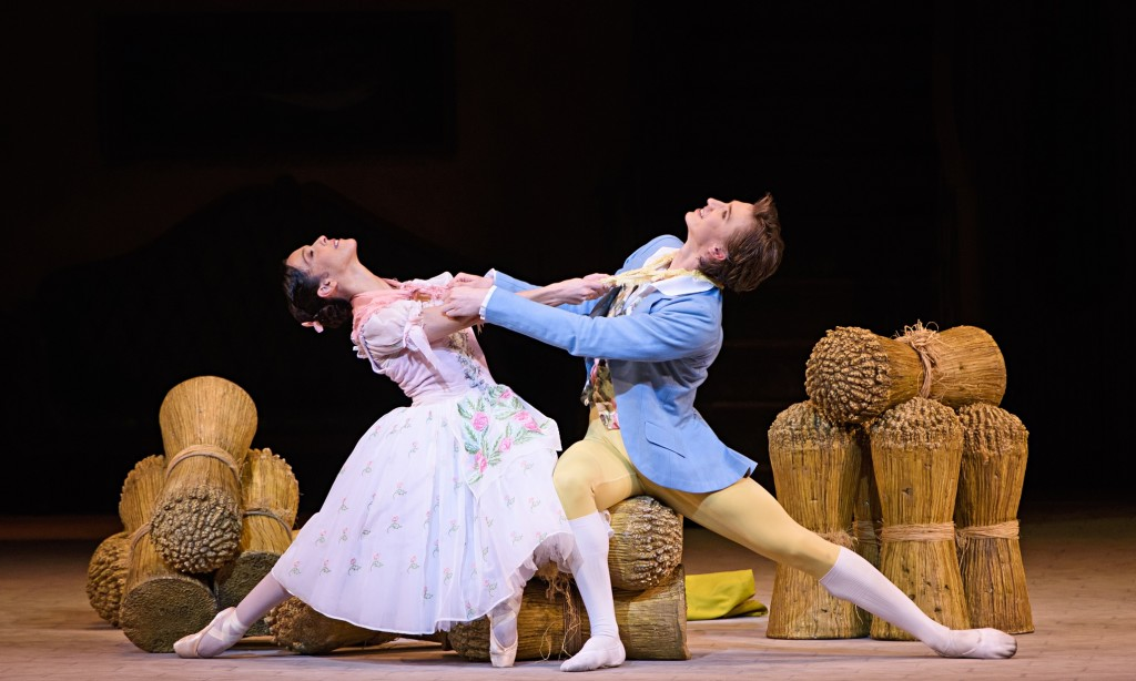 Vadim Muntagirov and Laura Morera in La Fille mal gardee. Photograph Tristram KentonThe Guardian