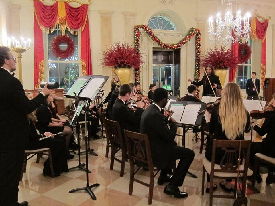 Gabriele Ciampi alla Casa Bianca