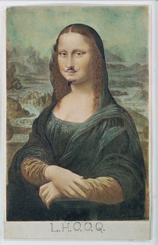 M. Duchamp, L.H.O.O.Q, 1919
