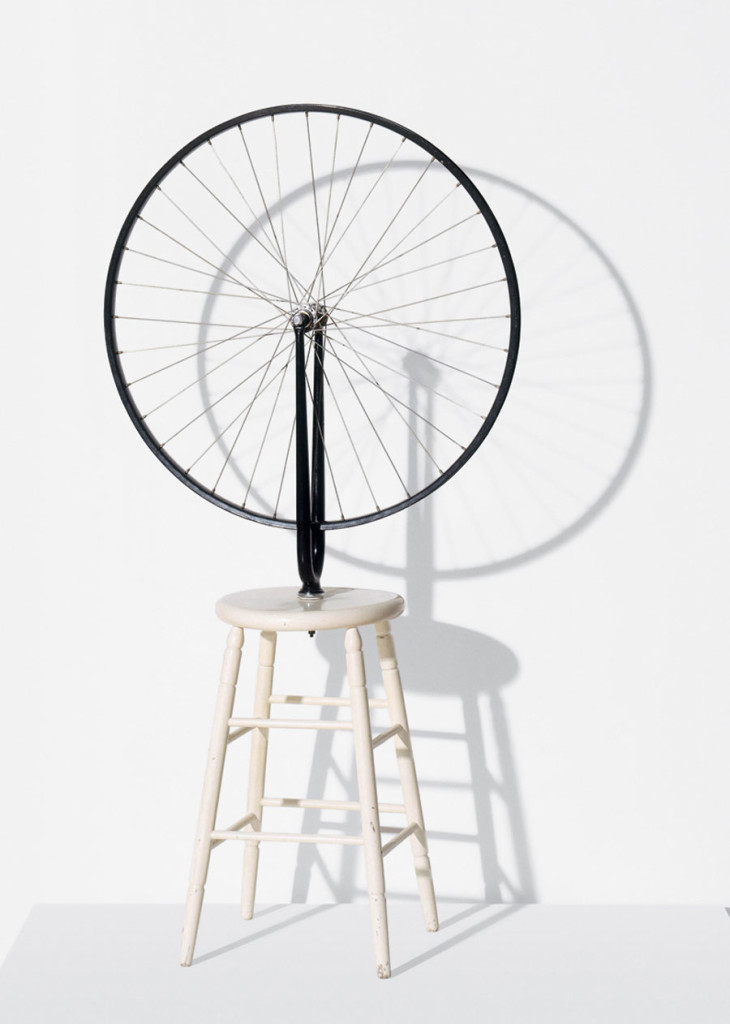 M.Duchamp, Bicycle Wheel, 1913
