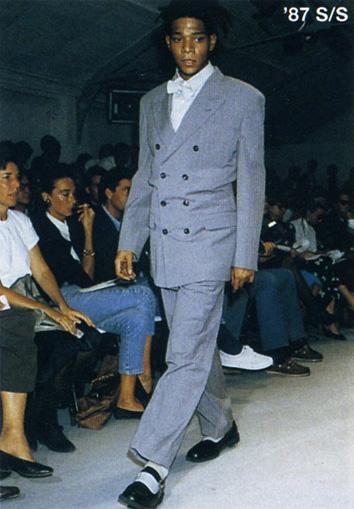 Jean-Michel Basquiat per Comme des Garçon