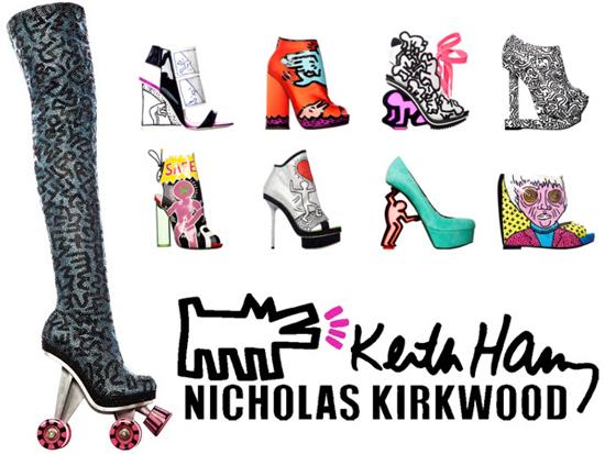 Nicholas Kirkwood x Keith Haring