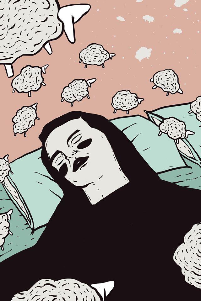 illustrazione realizzata per la call for artists della rivista indipendente Rapsodia