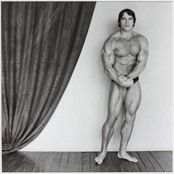 Robert Mapplethorpe Arnold Schwarzenegger 1976, printed 2005 Photograph on paper 341 x 341 mm