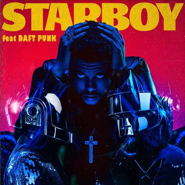 La copertina del singolo Starboy