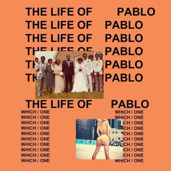 Copertina dell'album di Kanye West The Life Of Pablo