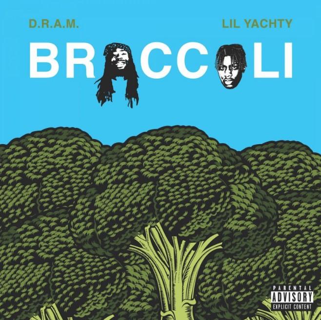 Copertina del singolo di D.R.A.M. e Lil Yachty