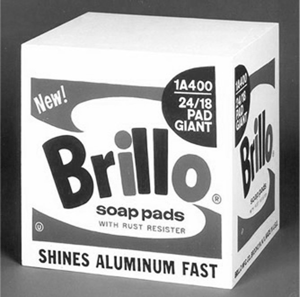 Bellezza come consumo: Andy Warhol. Brillo Soap Pads Boxes, 1964