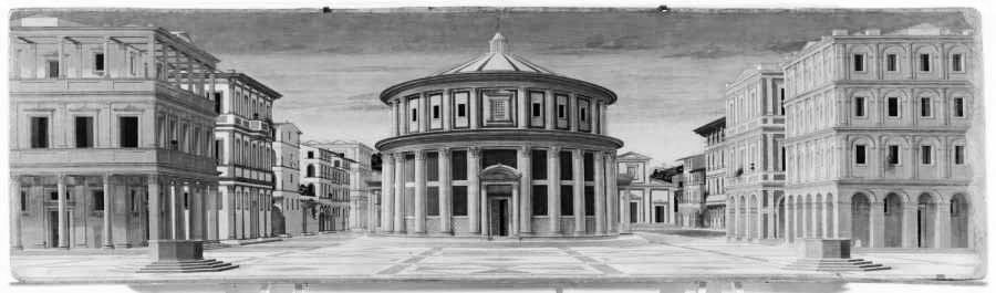 Bellezza del canone razionale: La città ideale, Galleria Nazionale delle Marche, Urbino.