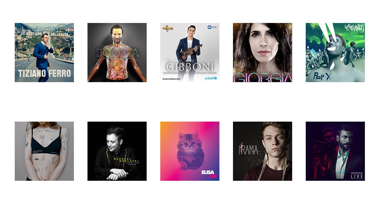 I 10 album italiani più interessanti del 2016