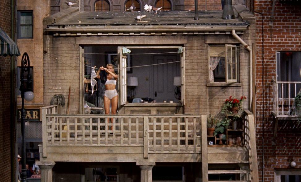 La finestra sul cortile di Alfred Hitchcock