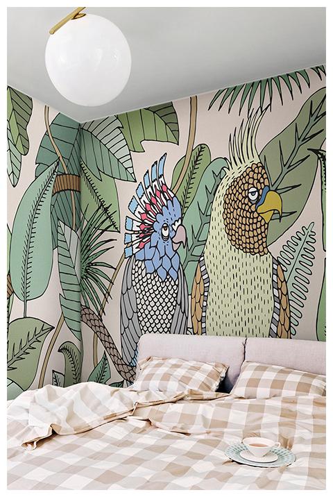 Cockatoo by Elena Salmistrano, collezione Yarn