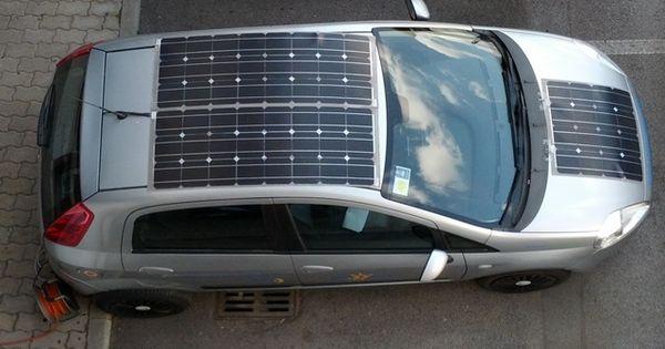 Hy solar kit su una Fiat Punto