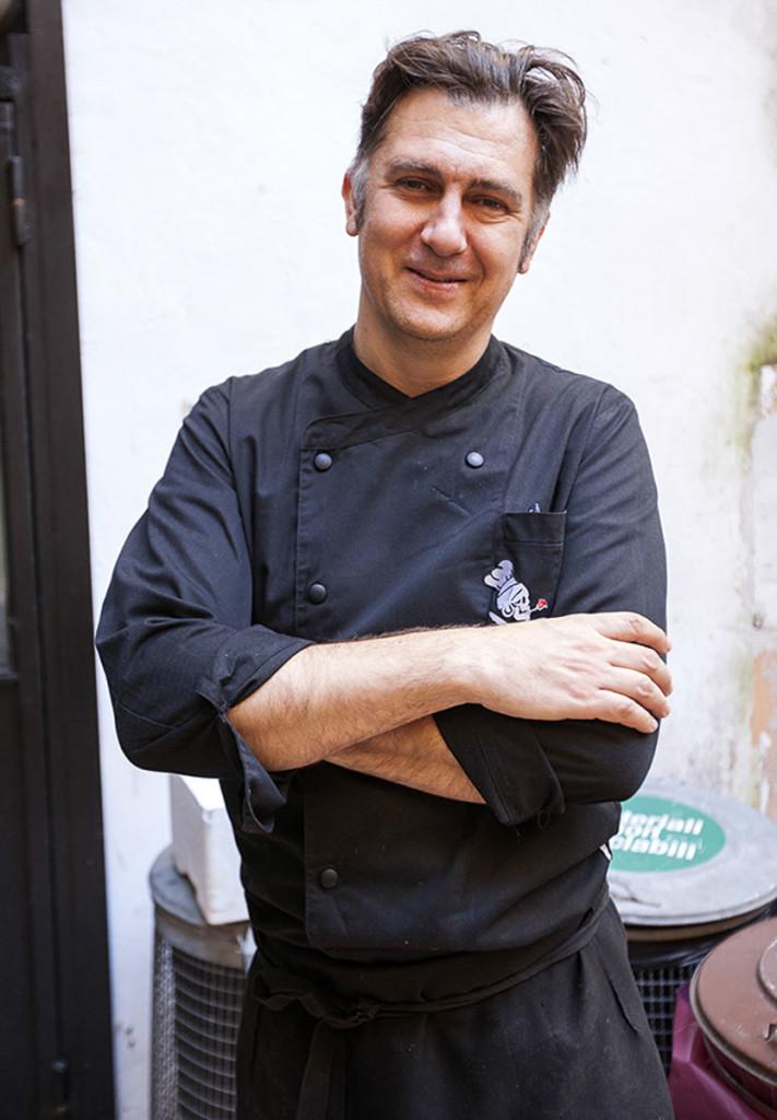 Chef Andrea Misseri