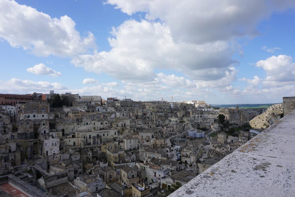 Vista sulla civita dal Duomo