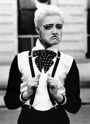 Siouxsie nel suo periodo punk