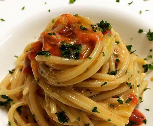 'A Maidda, Spaghetti con i ricci