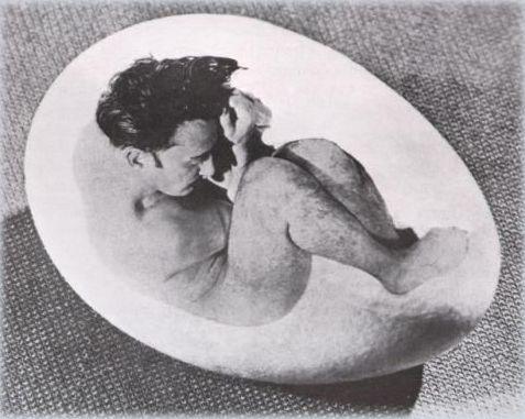 Salvador Dalì fotografato da Philippe Halsman