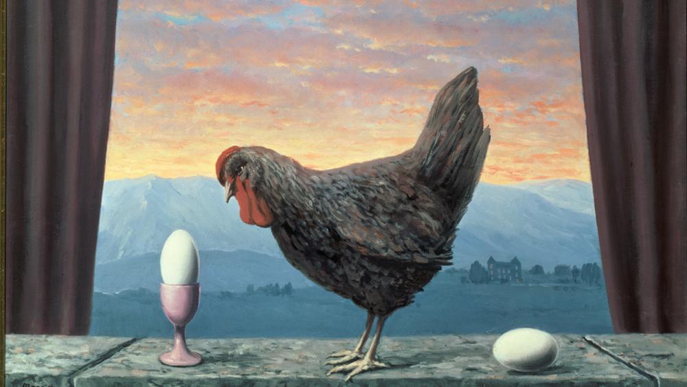 Rene Magritte - Variante della tristezza