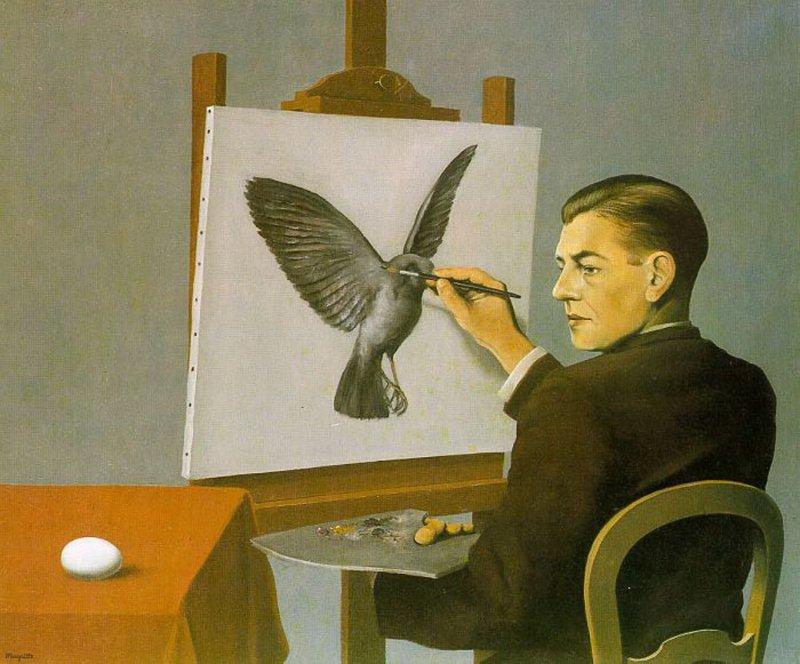 Rene Magritte - La chiaroveggenza