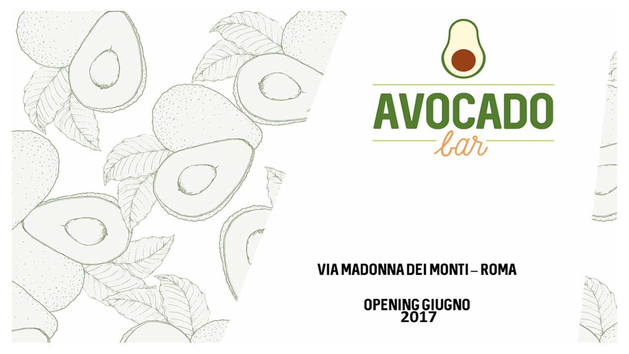Avocado Bar, il primo a Roma e in Italia