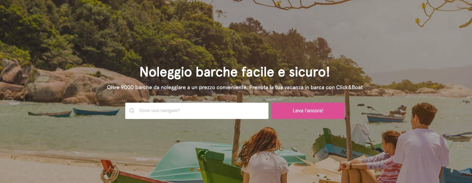Click&Boat sbarca finalmente in Italia
