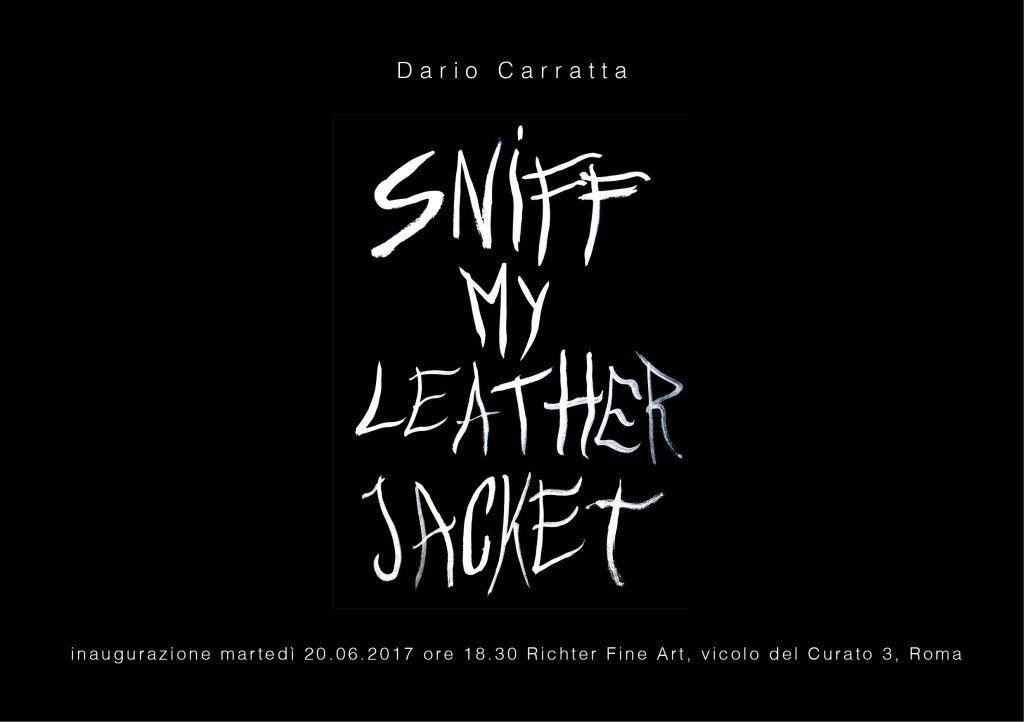 Dario Carratta: Sniff my leather jacket 1