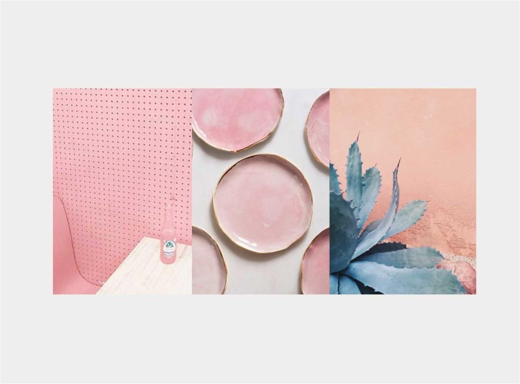 mise en place PINK - collage Jacopo Di Criscio