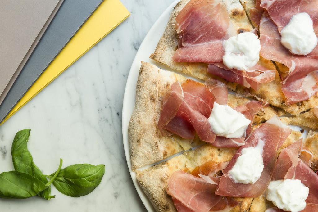 Pizza Re Parma - impasto ai cereali