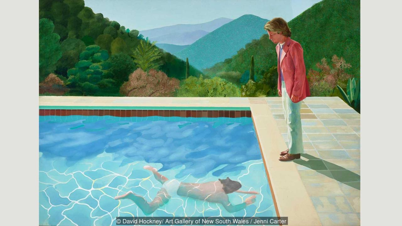 David Hockney – Paper Pools
