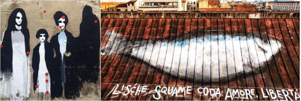 Elisa Muliere e LibertÖ - street art