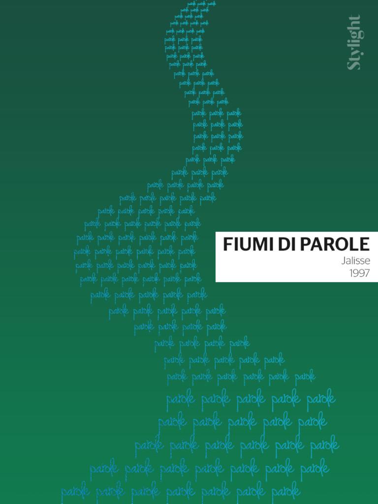Fiumi di parole - Sanremo poster by Stylight