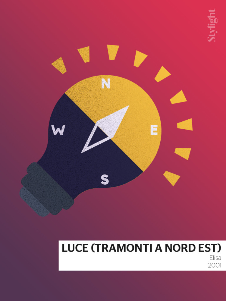 Luce (tramonti a Nord Est) - Sanremo poster by Stylight