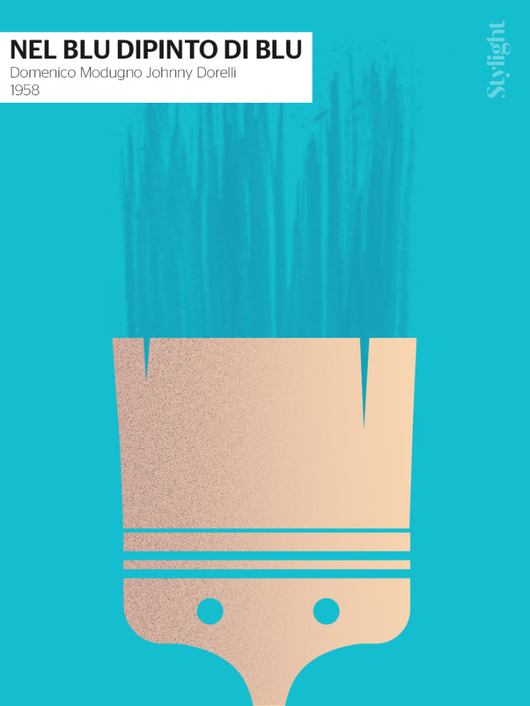 Nel blu dipinto di blu - Sanremo poster by Stylight